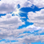 Weather-Mostly Cloudy-Logo